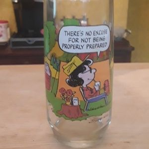 Vintage Camp Snoopy Collection glass - McDonald's